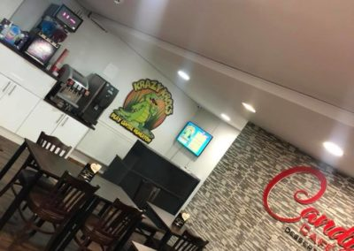Candys Cafe and Dessert Parlour - Krazy Krocs Play Centre Nuneaton